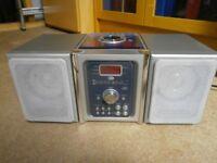 Compact HiFi CD & Radio with Speakers