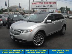 2013 Lincoln MKX AWD Naviation/Panoramic Sunroof Loaded