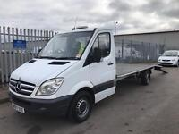 Low Milage !! SPRINTER 311 CDI LWB 07 RECOVERY TRUCK 2148CC 6 SPEED SUPER WINCH READY TO WORK
