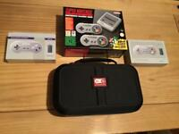 Nintendo Classic Mini: Super Nintendo Entertainment System with extras!