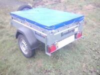 Brand new 5x4 car trailer fully galvanized brendrup