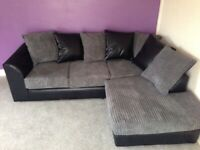 🏮BEST SALE OFFER🏮BYRON JUMBO CORD CORNER AND 3+2 SEATER SOFA SET 🏮AVAILABLE NOW🏮