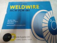 Flux Cored wire. WELDWIRE. Net Wt 15kg