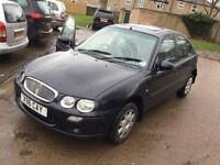 2001 Rover25 1.4cc---7 months mot,service history,remote key,changed cambelt and gasket,clean car.
