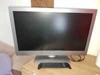 Bush Tv 24 inch screen HD, LED, Freeview build in excellent condition also a free wall mounted