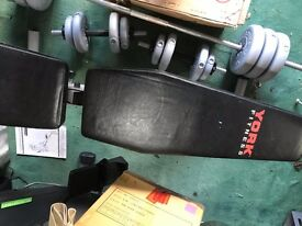 York Fitness Bench Weightlifting
