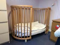 Stokke sleepy mini, cot, cot bed, junior bed.