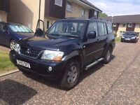 Mitsubishi shogun field di-d PRICE NOW REDUCED