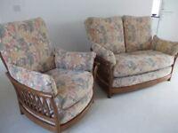 Ercol living room furniture.
