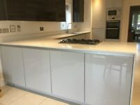 Stunning 5 year old kitchen units and Siemens appliances