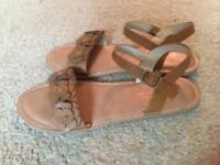 Beige Next sandals