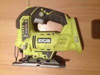 Ryobi jigsaw + 2 batteries (NO CHARGER)