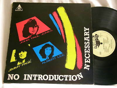 JIMMY PAGE ALBERT LEE No Introduction Necessary John Paul Jones Nicky Hopkins LP
