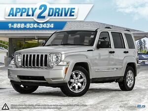 2009 Jeep Liberty Limited SUNROOF LEATHER 4X4 WE FINANCE