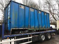 """Horse box body for sale 18""""ft for 7.5 ton Truck £800"""