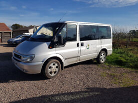 9 seater mini bus, 6 months M.O.T, good condition