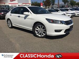 2014 Honda Accord TOURING 6-SPEED NAVIGATION CLEAN CARPROOF LEAT
