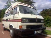 1990 VW T25 AUTO-SLEEPER TRIDENT 1915cc PETROL 4 BERTH CAMPERVAN WITH 50,200 GENUINE MILES FROM NEW