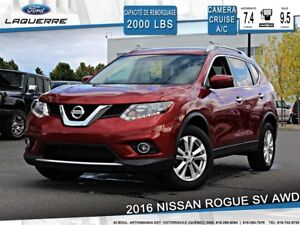 2016 Nissan Rogue SV**AWD*CAMERA*A/C*BLUETOOTH*SIÈGES CHAUFFANTS