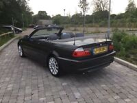 BMW 320 convertible only £2995