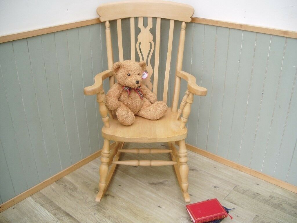 Stunning Pine Rocking Chair.