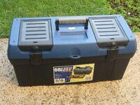 Lockable ZAG 60 cm Series 2000 Plastic Toolbox