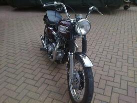 Triumph Thunderbird 6t Classic motorbike