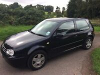 GOLF GTi 2.0lt..1999 A TRUE CLASSIC..LOADS OF HISTORY..DRIVES EXCELLENT..INVESTMENT !