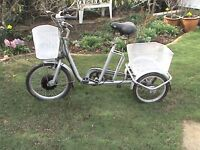 used adult electric tricycle