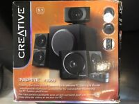 Creative Inspire T6200 5.1 surround sound speaker system for computers
