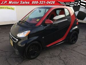 2015 smart fortwo Passion, Auto, Navigation, Sunroof, 38,000km