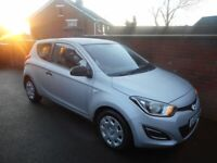 2012 HYUNDAI I20 CLASSIC{FHSH/1 OWNER FROM NEW/30 POUNDS TAX/2 KEYS/6 MONTHS WARRANTY}