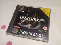 DINO CRISIS 1 ORIGINAL BLACK LABEL EDITION 1ST PRINT FOR THE PLAYSTATION 1 / RARE