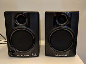 M-Audio AV30 speakers