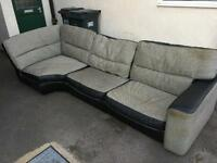 FREE corner sofa. Collection from Gedling NG4