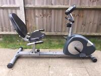 Carl lewis recumbent exercise bike with computer Can deliver