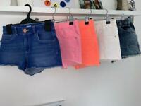 Girl's Denim Shorts 9/10yrs