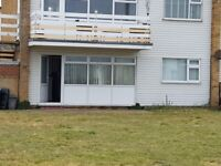 Two bedroom ground floor flat/chalet for sale in Romney Sands Holiday Park Kent