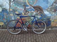 CLAUD BUTLER BIKE WITH SHIMANO-V BRAKES AND BASSANO SEAT AND LIGHTS