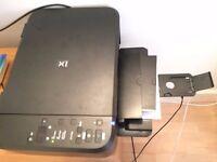 3-in-1 Printer, Scanner, Copier - Black & White, Colour