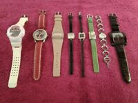 Eight Watches-All In Working Order-Proceeds To Local Charity