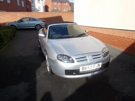 MGTF 1.8 SILVER 2002 PROJECT OR SPARES