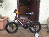 Boys Apollo Star fighter bike