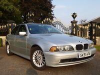 BMW 530D 4 DOOR SALOON **LONG MOT WITH NO ADVISORY NOTES**
