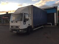 2004 Iveco tector curtainside lorry dropside taillift ideal grocery builder yard cash & carry px