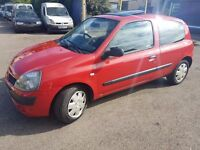 Renault Clio 1.4 16V Automatic Gearbox 2005 1 Years Mot Excellent runner Lovely First car No Faults