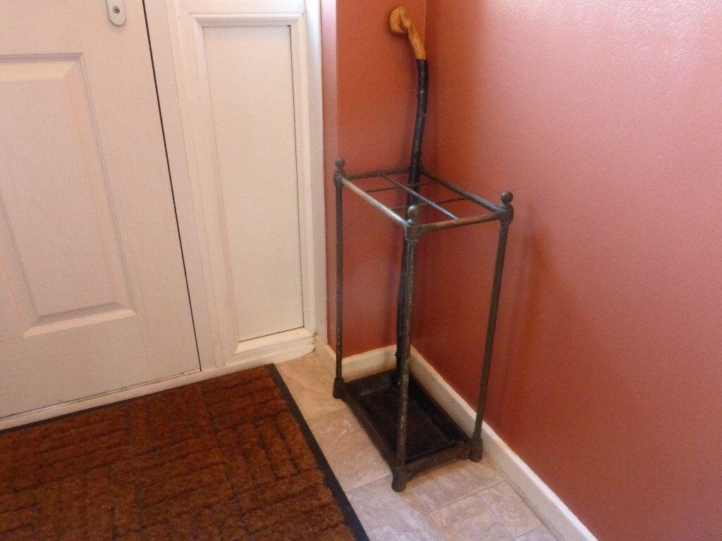 Cast Iron or Genuine Copper Available Genuine Copper Umbrella /& Walking Stick Stand