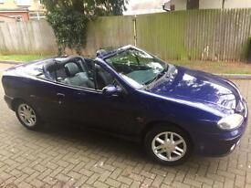 RENULT MEGANE AUTOMATIC 1.6 PETROL CONVERTIBLE LEATHER 2003