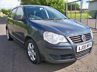 Polo 1.2 E55 2006 (06) Volkswagen Polo Long MOT & Full History