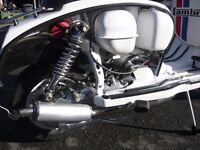 1978 lambretta GP150 restored MOT'd UK reg'd ONLY 11mls since rebuild. Gear Box very sticky WOW